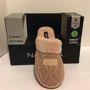 Nautica Women's Knit Slippers
